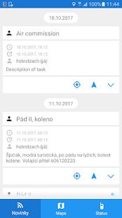 GINA Messenger 2.0 - Horská služba - náhled