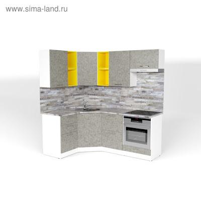 Кухонный гарнитур Валерия оптима 4 1400*2000 мм