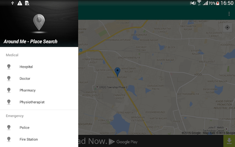 android Around Me - Places (Search) Screenshot 16
