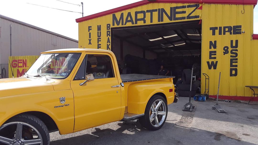 Martinez Tire Muffler Shop Tire Shop In Converse