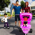 Virtual Mother Life Simulator - Baby Care Games 3D icon