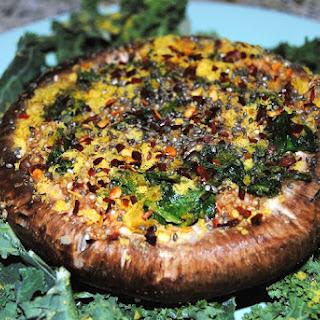 Quinoa-Stuffed Portobello Mushroom