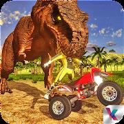 Dino World Quad Bike Race - Jurassic Adventure