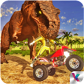 Dino World Quad Bike Race - Jurassic Adventure