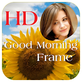 Good Morning Image Photo Frame