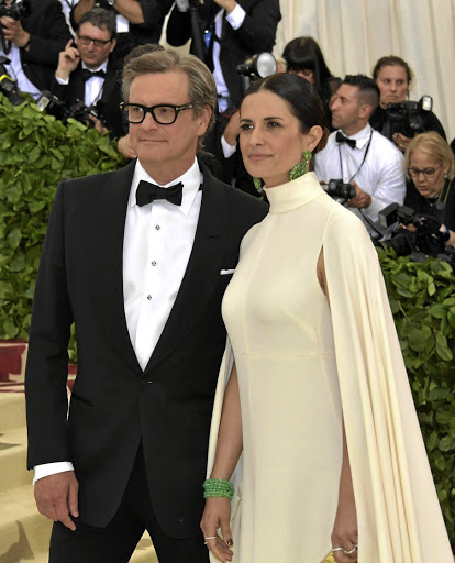 Colin and Livia Firth at the 2018 Met Gala in New York.