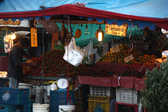 Photo: Day 331 -  Market Stall in the Early Morning