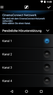 Sennheiser CinemaConnect – Miniaturansicht des Screenshots