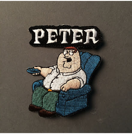 Family Guy - Peter - Tygmärke