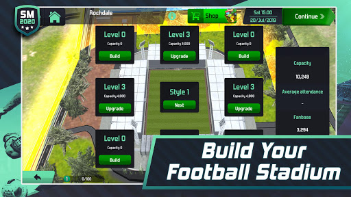 Soccer Manager 2020 - Football Management Game apkpoly screenshots 4