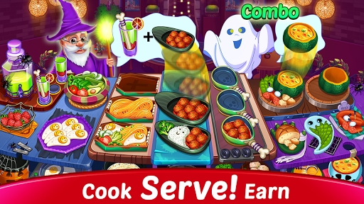 Halloween Cooking: Chef Madness Fever Games Craze APK Latest Version screenshots 1