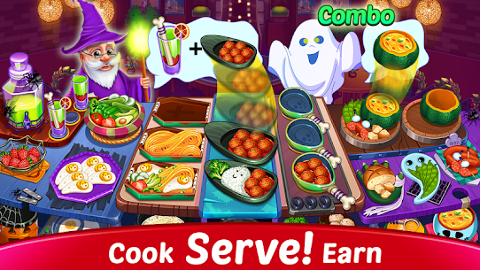 Halloween Cooking: Chef Madness Fever Games Craze 3
