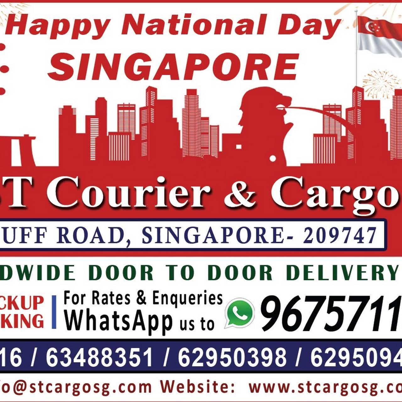 S T  Cargo Agencies Pte  Ltd  - WORLDWIDE DOOR TO DOOR CARGO