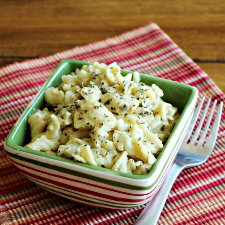 Gluten Free Lemon Pepper Chicken Pasta Recipe