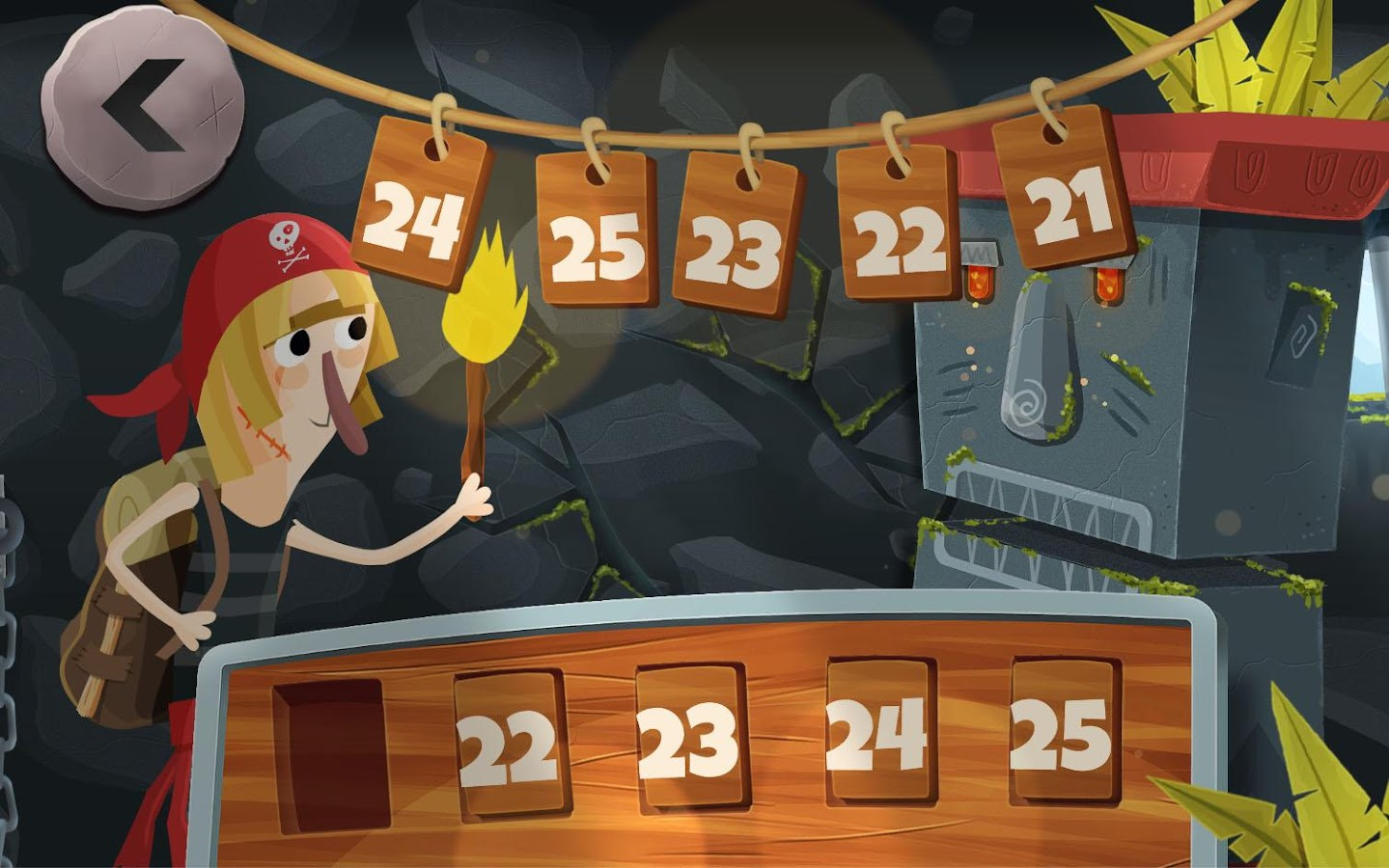 Numbers Dungeon 5- screenshot