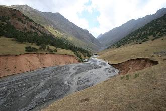 Photo: Kosh-Moynok ravine & river