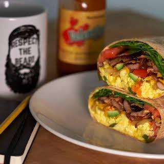 Ultimate Breakfast Burrito.
