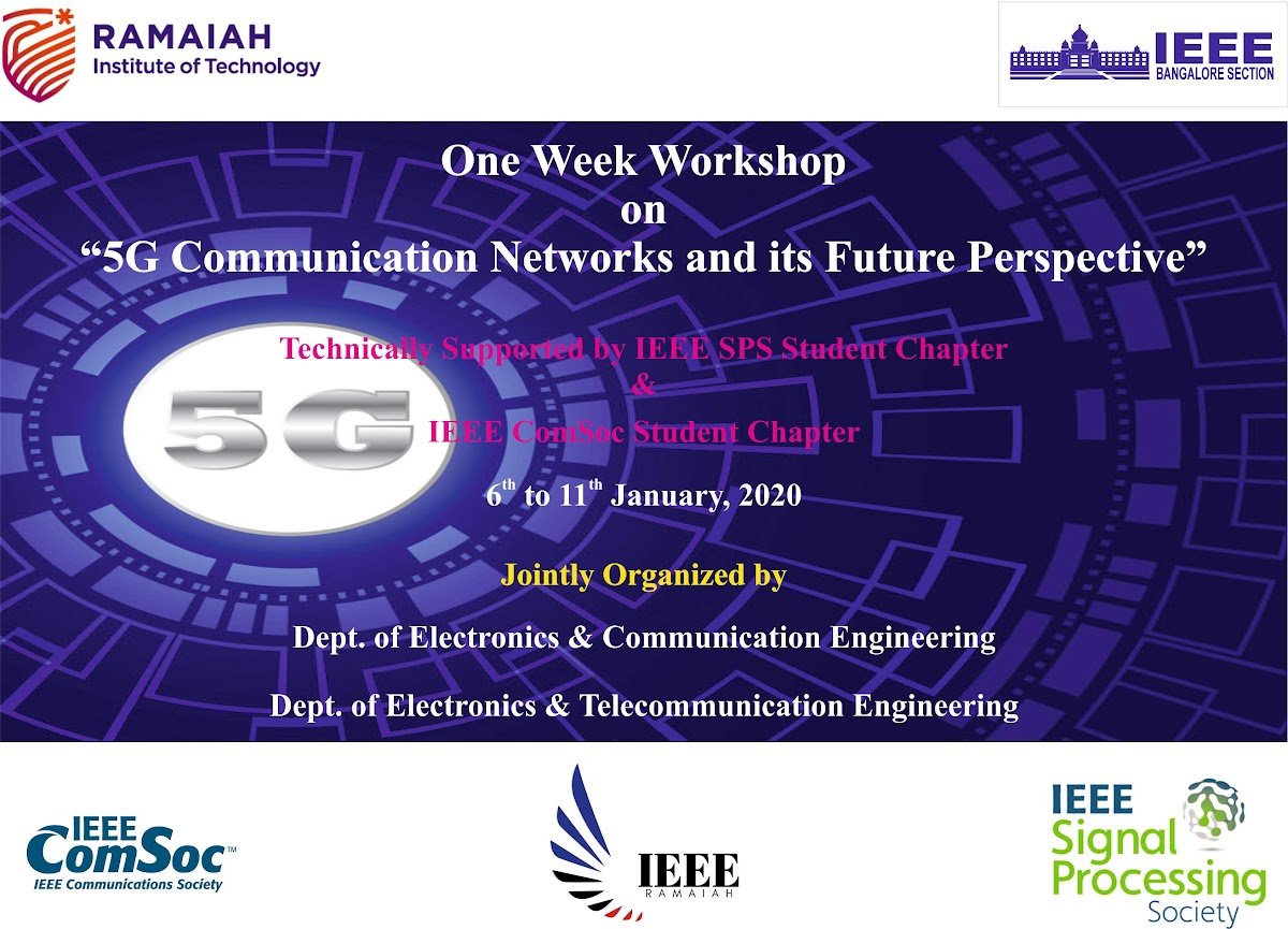 Workshop on 5G Communication Networks & its Future Perspective