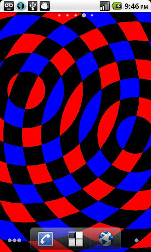 Interfering Circles LWP screenshot 2