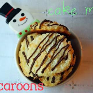 Cake Mix Macaroons.