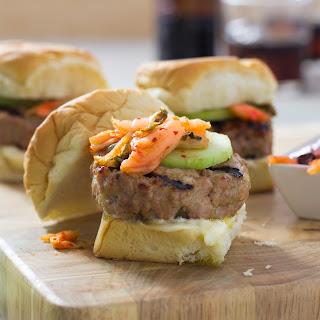 Kimchi Pork Sliders.