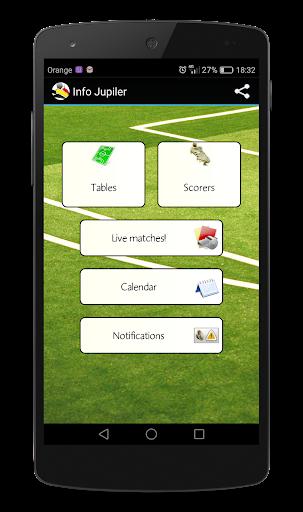 info jupiler league screenshot 1