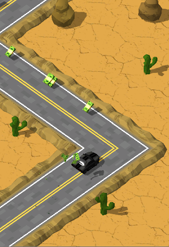 android Most Wanted ZigZag Runner Screenshot 7