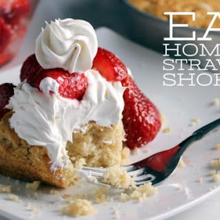 Easy Homemade Strawberry Shortcake From Scratch.