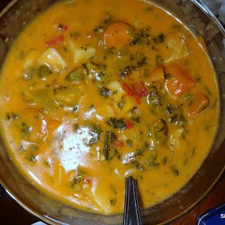 Caribbean Chicken Stew.