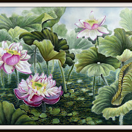 by Myong Dutton - Painting All Painting