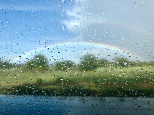 Arcobaleno nella pioggia di michimotta