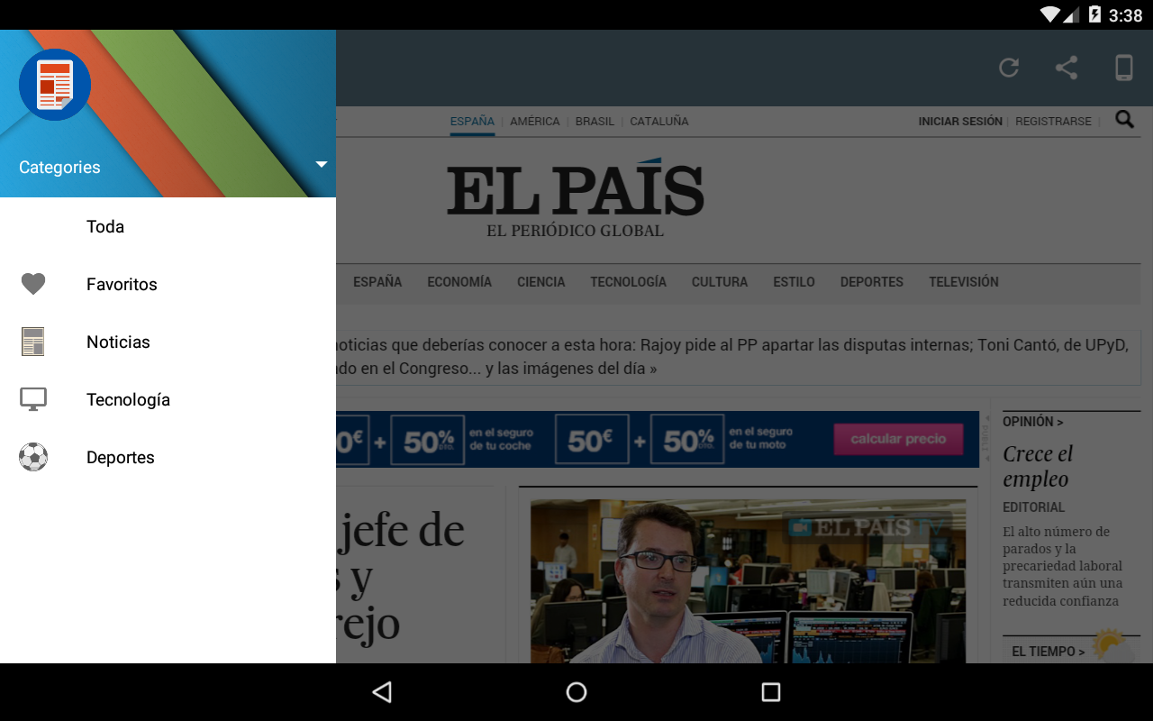 Prensa de España - screenshot