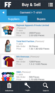 Fibre2fashion- B2B Marketplace- screenshot thumbnail