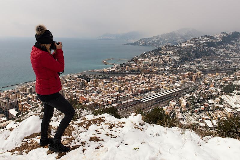 Un insolita nevicata  di Giancarlo Lava