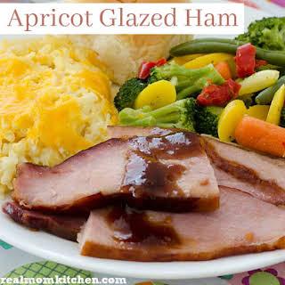 Apricot Glazed Ham.