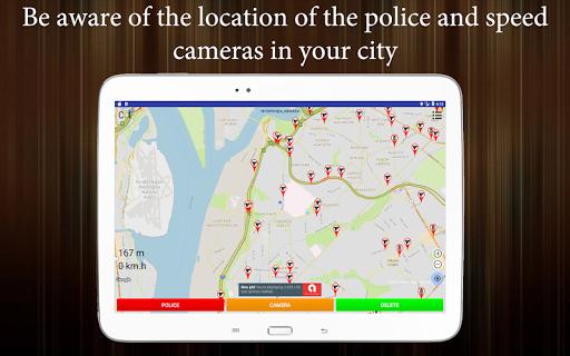 Police Detector (Speed Camera Radar)  screenshots 4