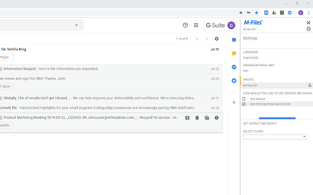 M-Files for Google Workspace