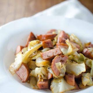 Kielbasa and Cabbage.