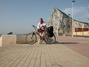 Photo: Spain and Gibraltar by bike
