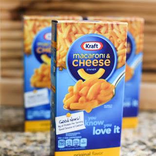 KRAFT Macaroni & Cheese Chicken Casserole.