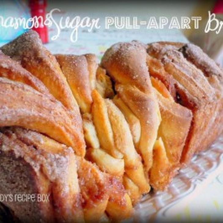 Cinnamon Sugar Pull-Apart Bread Recipe | Yummly