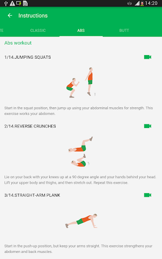 7 Minute Workout 1.363.110 screenshots 23