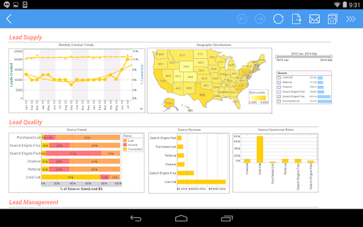 InetSoft Mobile Version 12.1 1.0.3 screenshots 18