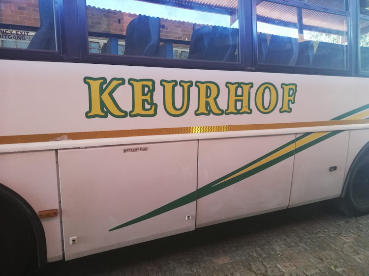 The bus was last seen parked at Keurhof School around 3pm on Thursday.
