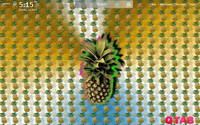 Pineapple Wallpapers HD Pineapples New Tab