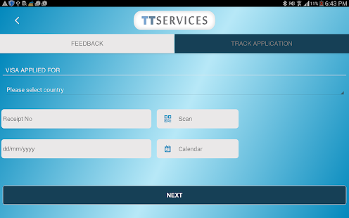 TTS Tracking & Feedback App- screenshot thumbnail