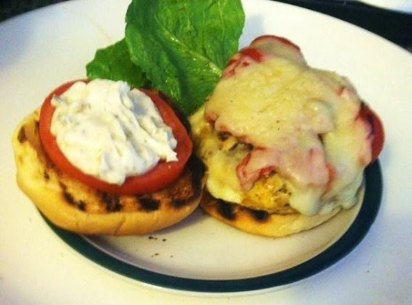 Place on a Potato roll with lettuce tomato,and my herb mayonnaise. Enjoy