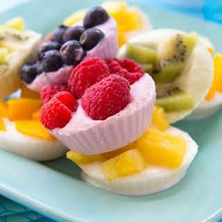 Fruity Frozen Yogurt Snacks.