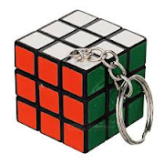 Rubik's Cube Keychain