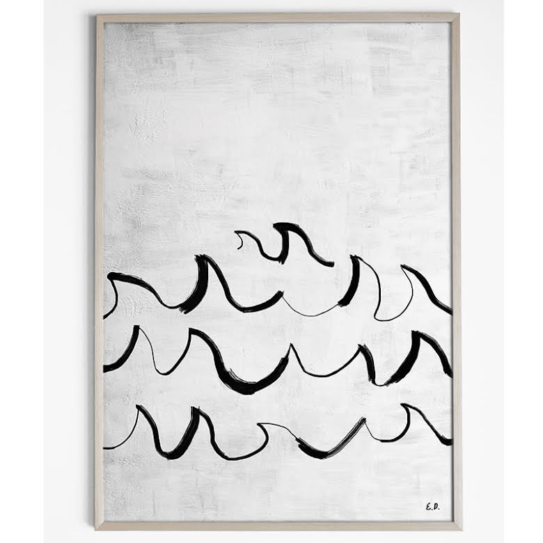 Wave Poster 50x70 cm